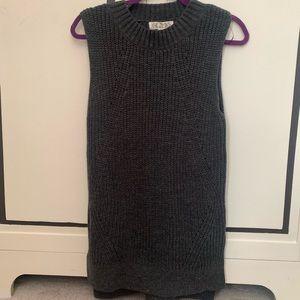 Sleeveless Cozy Sweater Top/Dress